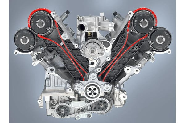 Timing chain repair after engine failure