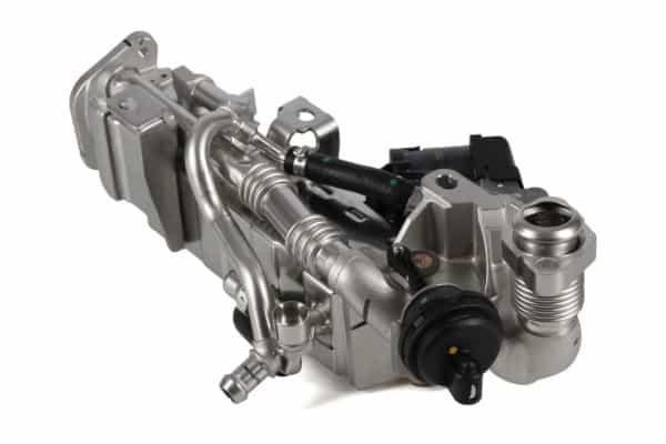 BMW EGR cooler and valve
